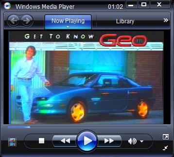 90's Geo Storm ad